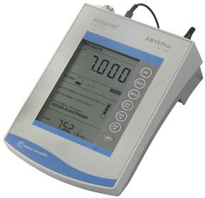 pH meter.a